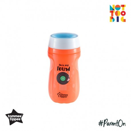 Tommee Tippee Insulated 360 Cup 260ml (12m+) - Orange