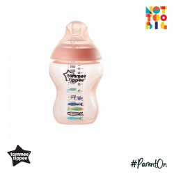 Tommee Tippee Closer to Nature Tinted Bottle 260ml/9oz (1 Pack) - Peach