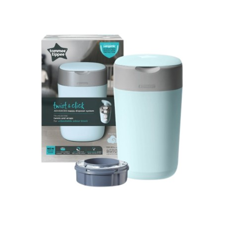 Tommee Tippee Twist and Click Sangenic Bin (Blue)