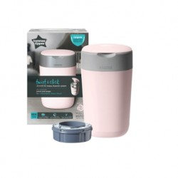 Tommee Tippee Twist and Click Sangenic Bin (Pink)