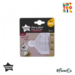 Tommee Tippee CTN Soft Teat Fast (Pack of 2)