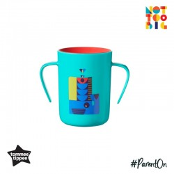 Tommee Tippee 360 Deco Trainer Cup 200ml (6m+) - Teal