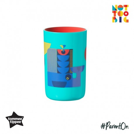 Tommee Tippee 360 Deco Tumbler Cup 250ml (12m+) - Teal