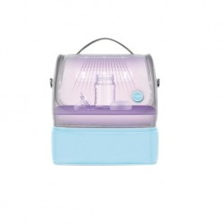59s UVC LED Sterilizing Mommy Bag (Blue)