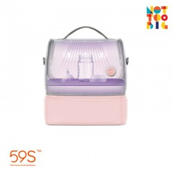 59s UVC LED Sterilizing Mommy Bag (Pink)