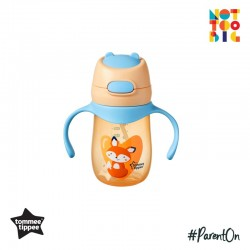 Tommee Tippee Weighted Straw 2 Handle Cup 240ml (Fox)
