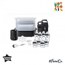 Tommee Tippee CTN Complete Feeding Kit - Black (The Clash)