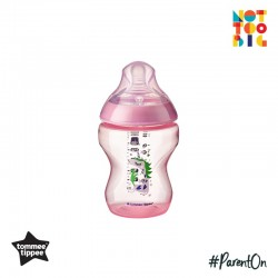Tommee Tippee CTN PP with Super Soft Teat Tinted Bottle 260ml/9oz - Pink (Unicorn)