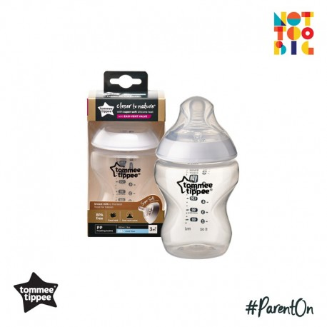 Tommee Tippee CTN PP with Super Soft Teat Bottle 260ml/9oz (1pk)