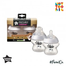 Tommee Tippee CTN PP with Super Soft Teat Bottle 150ml/5oz (2pk)