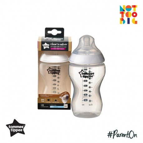 Tommee Tippee CTN PP with Super Soft Teat Bottle 340ml/12oz (1pk)