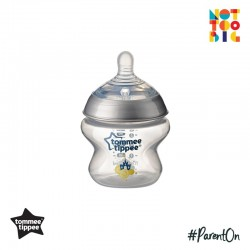 Tommee Tippee CTN PP with Super Soft Teat Tinted Bottle 150ml/5oz (Silver)