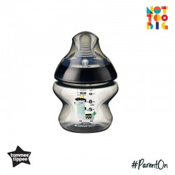 Tommee Tippee CTN PP with Super Soft Teat Tinted Bottle 150ml/5oz (Black)