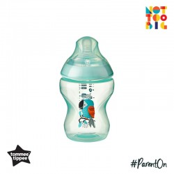 Tommee Tippee CTN PP with Super Soft Teat Tinted Bottle 260ml/9oz - Green (Bird)