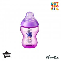 Tommee Tippee CTN PP with Super Soft Teat Tinted Bottle 260ml/9oz - Purple (Mermaid)