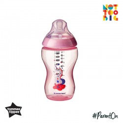 Tommee Tippee CTN PP with Super Soft Teat Tinted Bottle 340ml/12oz - Pink (Unicorn)