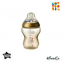 Tommee Tippee CTN PP with Super Soft Teat Tinted Bottle 260ml/9oz (Gold)