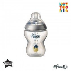 Tommee Tippee CTN PP with Super Soft Teat Tinted Bottle 260ml/9oz (Silver)