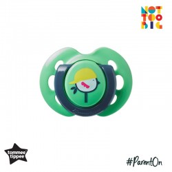 Tommee Tippee Closer to Nature Air Soother 0-6mths (1 Pack) - Green (New Design)