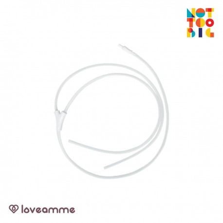 LoveAmme MadeToTravel Replacement Tubings (Tube x 3 with Associated Connectors x 2)