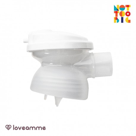 LoveAmme Wide-Neck T-Joints (for Avent, Spectra, Snapkis, Hegen) - 2pcs