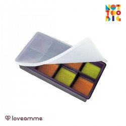 LoveAmme Silicone Baby Food Freezer Tray (8 Servings)