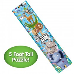 TLJI Long & Tall Puzzles - Big to Small Animals