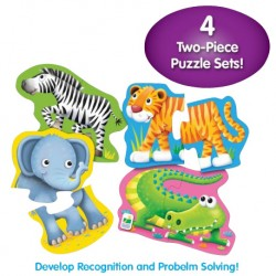 TLJI My First Shaped Puzzles - Safari Friends