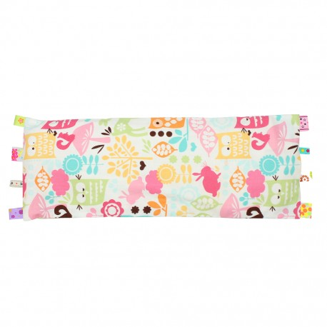 Beanie Nap Pillow Cover with Taggies (Forest Life)