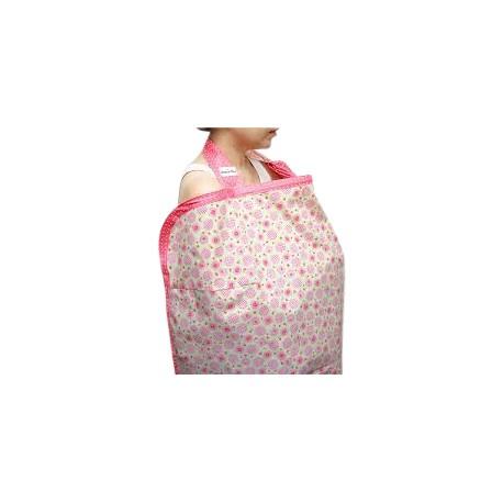 Beanie Nap Nursing Cover (Candy Rose)