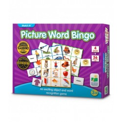 TLJI MI Listen & Play Picture Word Bingo