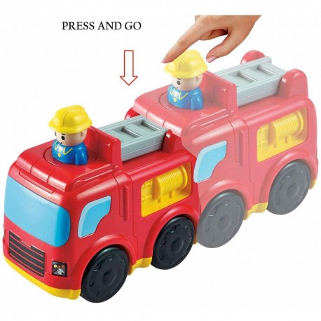 Infunbebe Press and Go Fire Engine