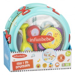 Infunbebe My 1st Drumset (6 Instruments)
