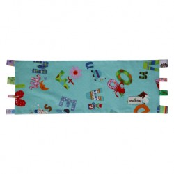 Beanie Nap Pillow Cover with Taggies - Alphabets