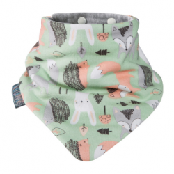 Cheeky Chompers Neckerchew Bib Fox & Friend