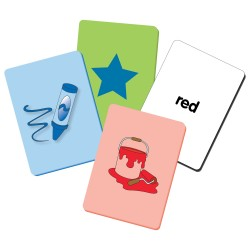 TLJI Clever Kids See & Say Flash Card Colors & Shapes