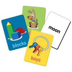 TLJI Clever Kids See & Say Flash Card First Words