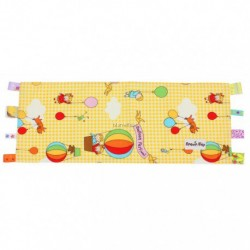 Beanie Nap Pillow Cover With Taggies - Ballon Yellow