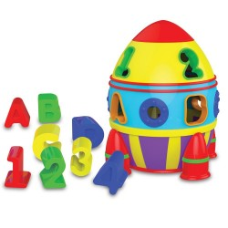 TLJI Rocket Shape Sorter