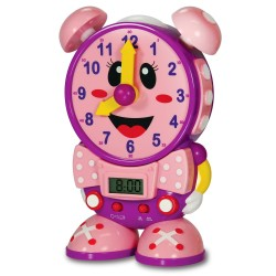 TLJI Telly The Teaching Time Clock (PINK)