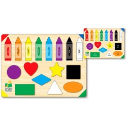 TLJI Lift & Learn Colors and Shapes
