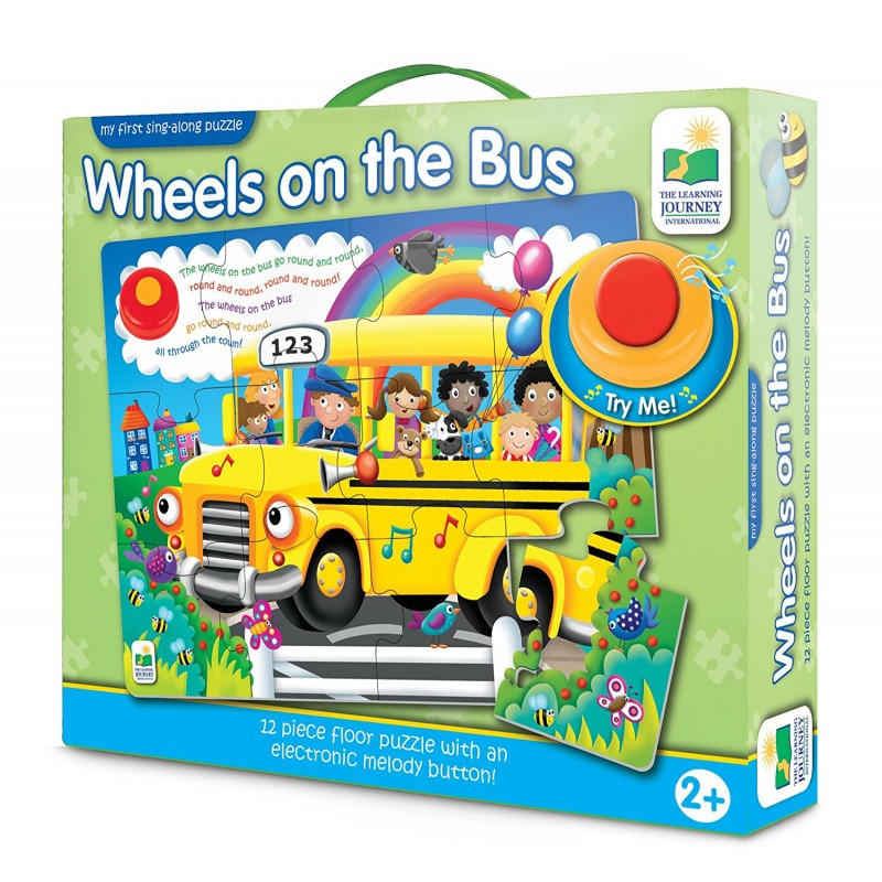 Tlji My First Sing Along Puzzle Wheels On The Bus