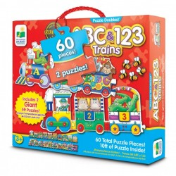 TLJI Giant ABC & 123 Train Puzzle