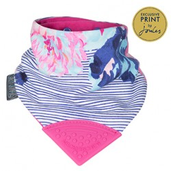 Cheeky Chompers Joules Floral Stripe Neckerchew
