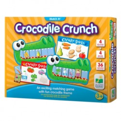 TLJI Match It! Game - Crocodile Crunch