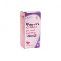 Rhinathiol 2% Child and Infant Syrup (125ml/bottle)