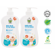 Chomel Baby Head to Toe Wash 500ml (Twin Pack)