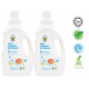 Chomel Baby Laundry Detergent 1 Litre (Twin Pack) FREE Head To Toe 50ml x1