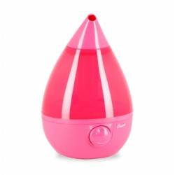 Crane Drop Shape Ultrasonic Cool Mist Humidifiers (Pink)