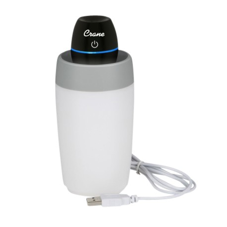 Crane Travel Cool Mist Humidifier - Black
